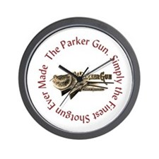 The Parker Gun Wall Clock