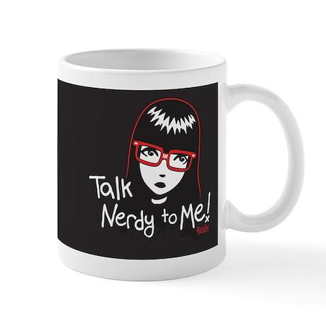 Talk Nerdy to Me Emily Mug
