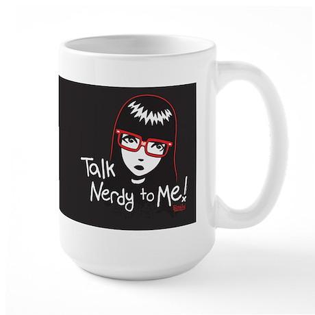 Talk Nerdy to Me Emily Large Mug
