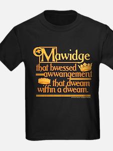 Princess Bride Mawidge Speech Kids T-Shirt