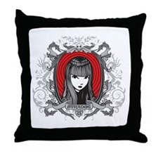 Strange Crest Throw Pillow