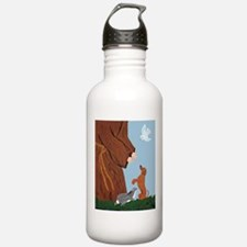 Dachshund And St. Francis Water Bottle