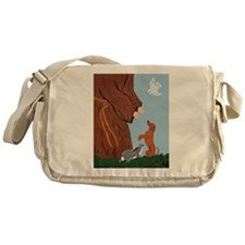 Dachshund And St. Francis Messenger Bag