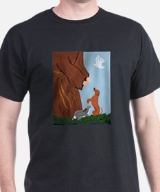 Dachshund And St. Francis T-Shirt