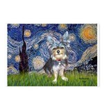 Starry-AussieTerrier2 Postcards (Package of 8)