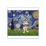 Starry-AussieTerrier2 Square Sticker 3