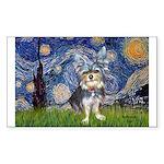 Starry-AussieTerrier2 Sticker (Rectangle 50 pk)