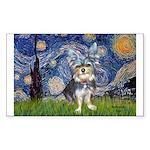 Starry-AussieTerrier2 Sticker (Rectangle 10 pk)