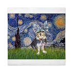 Starry-AussieTerrier2 Queen Duvet