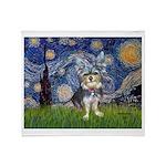 Starry-AussieTerrier2 Throw Blanket