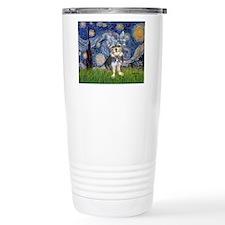 Starry-AussieTerrier2 Travel Mug