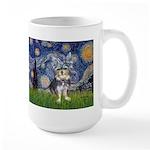 Starry-AussieTerrier2 Large Mug