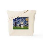 Starry-AussieTerrier2 Tote Bag