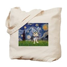 Starry-AussieTerrier2 Tote Bag
