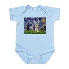 Starry-AussieTerrier2 Infant Bodysuit