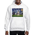 Starry-AussieTerrier2 Hooded Sweatshirt