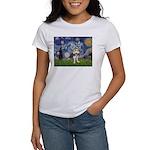 Starry-AussieTerrier2 Women's T-Shirt