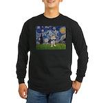 Starry-AussieTerrier2 Long Sleeve Dark T-Shirt