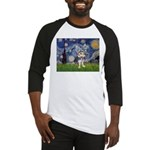 Starry-AussieTerrier2 Baseball Jersey