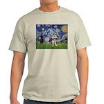 Starry-AussieTerrier2 Light T-Shirt