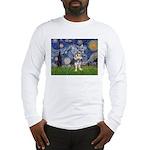 Starry-AussieTerrier2 Long Sleeve T-Shirt