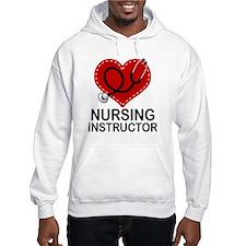 Nursing Instructor Heart Hoodie