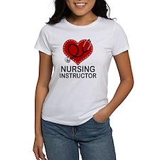 Nursing Instructor Heart Tee