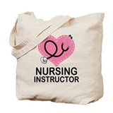 Nursing instructor Canvas Totes