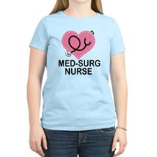 Med-Surg Nurse Heart T-Shirt