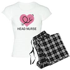 Head Nurse Heart Pajamas