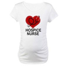Hospice Nurse Heart Shirt