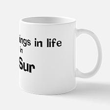 Del Sur: Best Things Mug