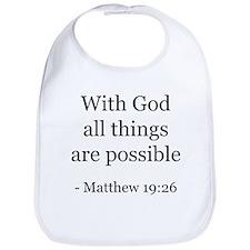 Matthew 19:26 Bib