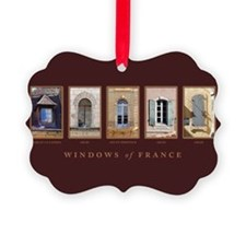 Windows of Provence Ornament