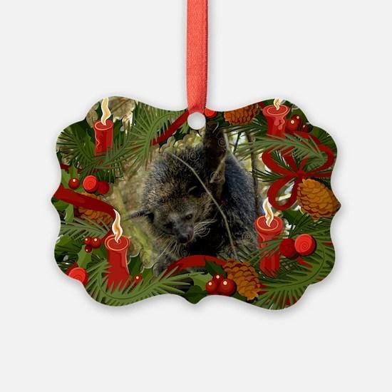 Bearcat Christmas Cards Ornament
