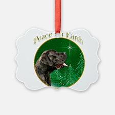 Peace on Earth brindle Ornament