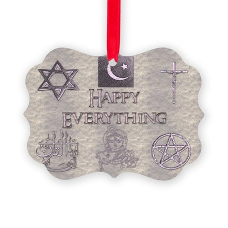 Happy Everything Picture Ornament