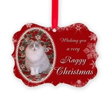 Ragdoll Cat Christmas Carda (Pk of 20)