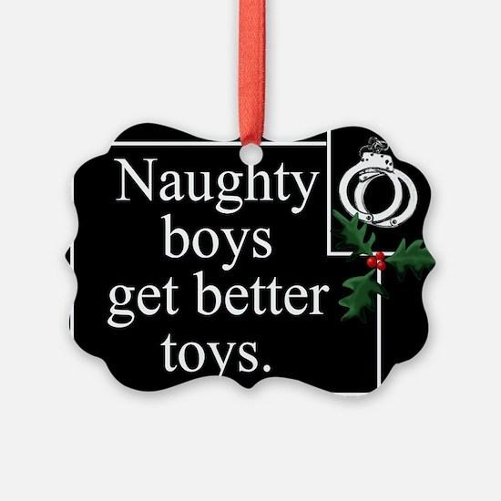 Naughty Boys Ornament