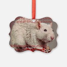 Fancy Rat Christmas Ornament