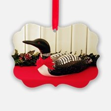 Holiday Loon Ornament