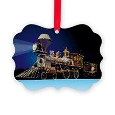 Christmas Train Ornament