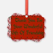 Friendship Gift Ornament