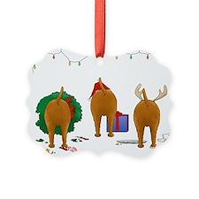 Irish Terrier Christmas Ornament