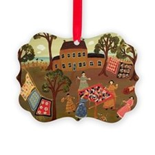 THE CRAZY QUILTERS Ornament