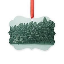 White ChristmasOrnament
