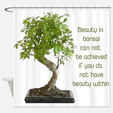 Bonsai Beauty Shower Curtain