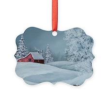 Winter Solitude Christmas Ornament