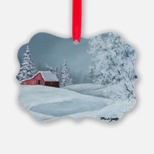 Winter Solitude Christmas Ornament