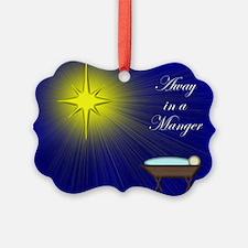 Luke 2:11 Manger Ornament